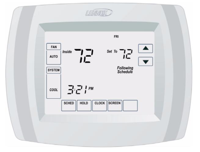 Lennnox Comfort Sense 5000 Thermostat Charlotte Comfort